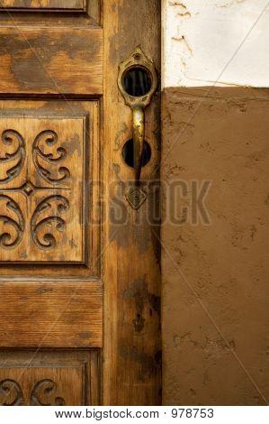 Brassdoorhandle
