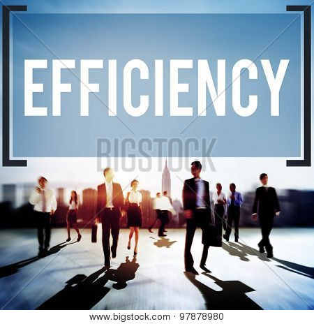 Efficiency Ability Quality Skill Expert Excellence Concept poster