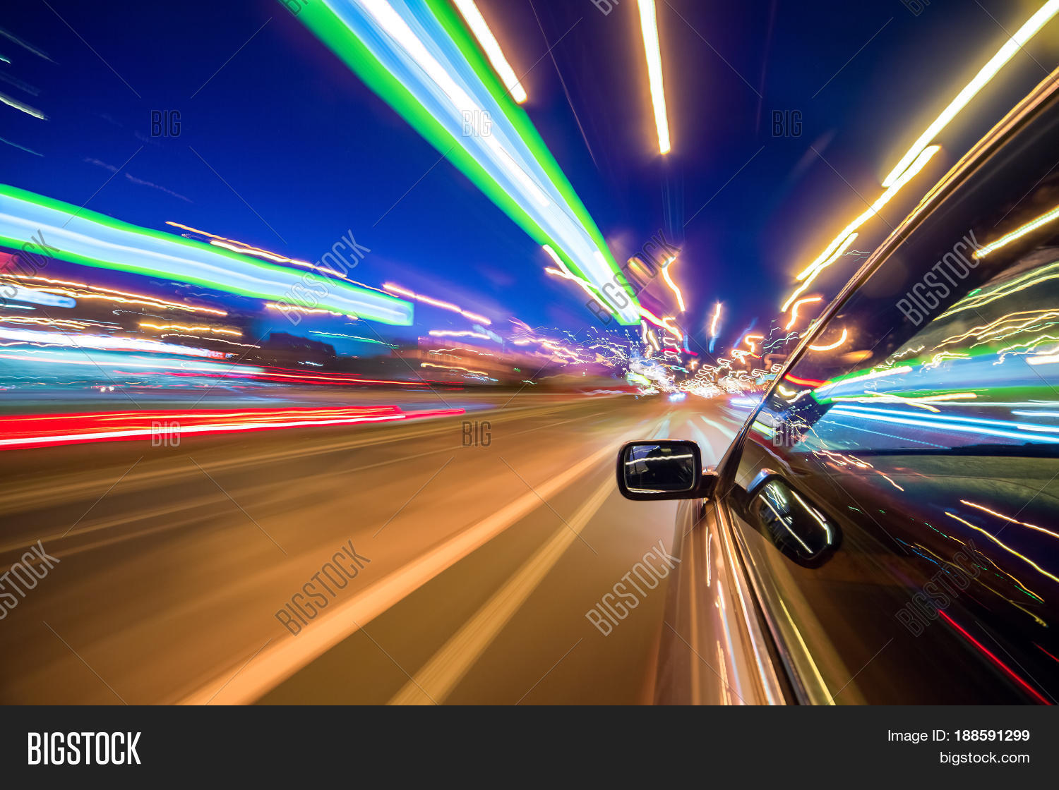 View Side Car Moving Image Photo Free Trial Bigstock