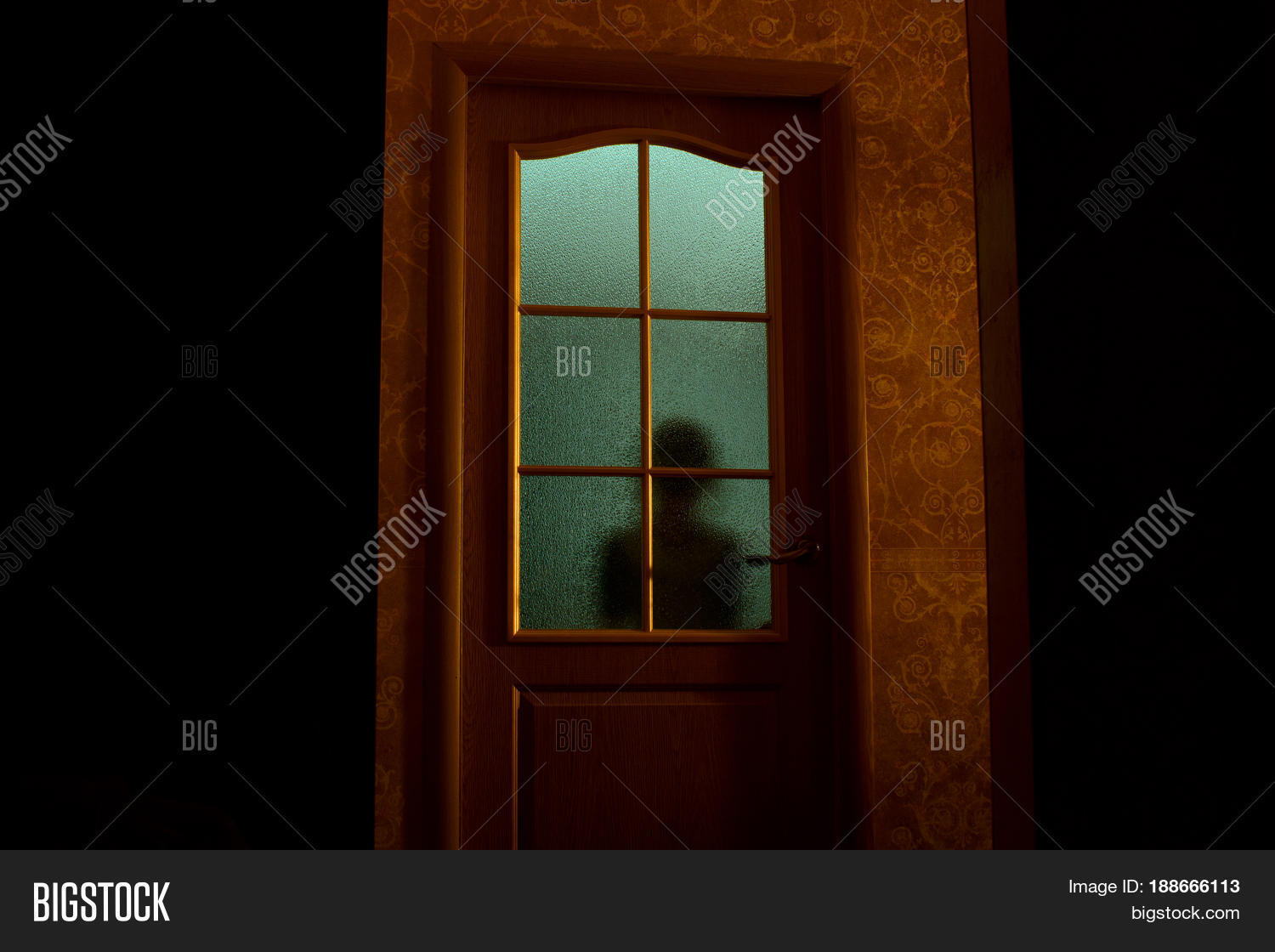 Blurred Silhouette Image Photo Free Trial Bigstock