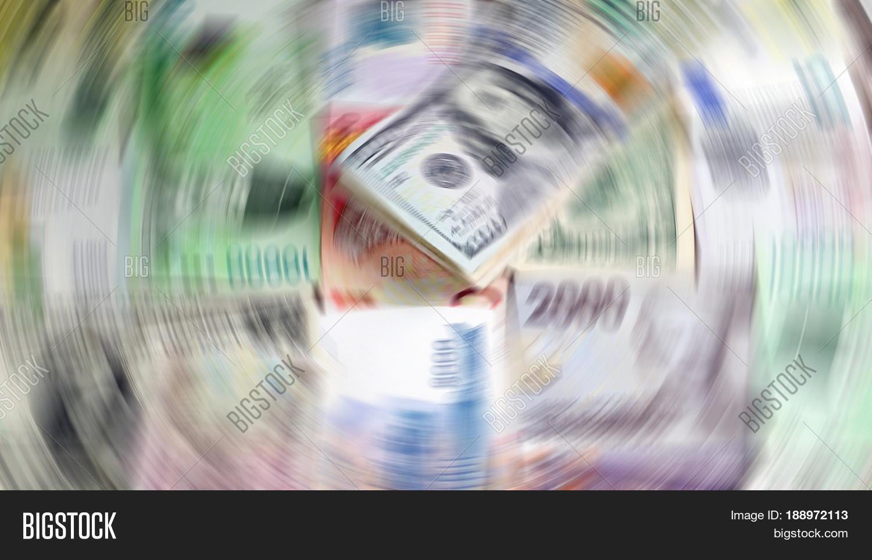 Us Dollars Korean Won Euro Bills And Some Money Banknotes Background