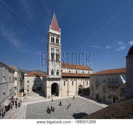Chatedral of Saint Lawrence on Trogir's main square