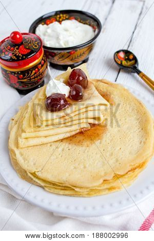 Fried Thin Pancakes