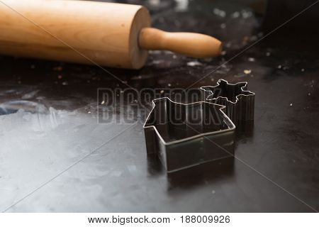 Rolling Pin And Baking Utensils