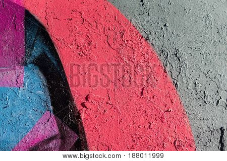 Abstract grunge texture background with color tones. Aged paint on old rough dirty metal surface close-up, with space for copy