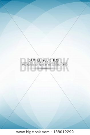 Blue-white background transparent lines Abstract light vector background