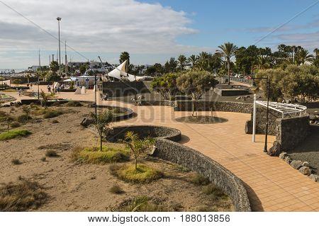 Puerto Del Carmen, Lanzarote, Spain