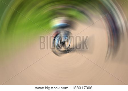 Abstract background texture, from multi-colored moving circles