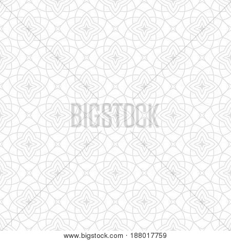 Arabic seamless patterns. Gray ornaments for textile and fabric. Vector illustration