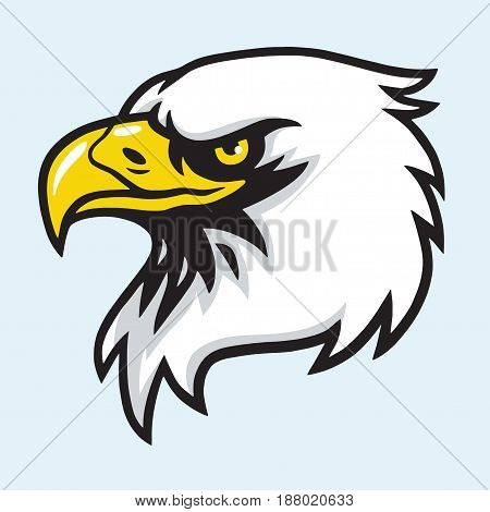 Eagle Head Mascot Vector Illustration Design Logo