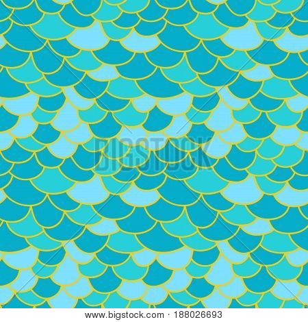 Fish scale background. Abstract seamless geometric texture background