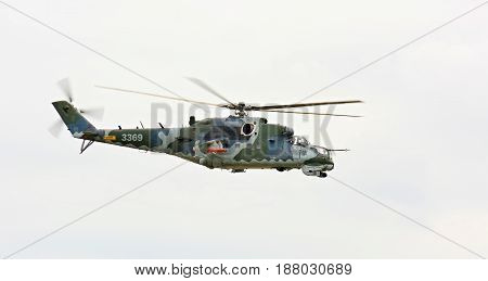 Mil Mi-24 Helicoptere