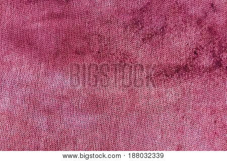 Dirty Pink Textile Rag Texture.