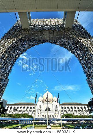 The Federal Court of Malaysia or Istana mahkamah, Putrajaya Malaysia.