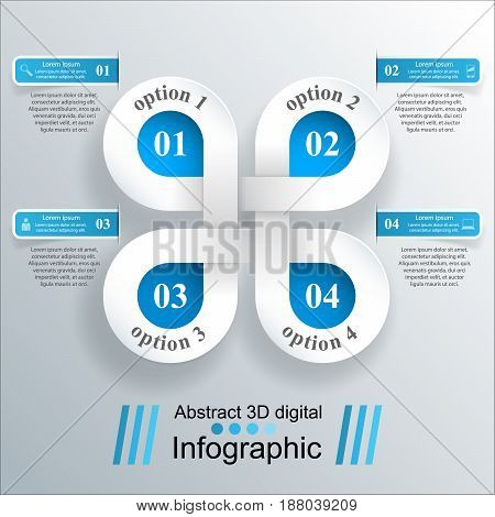 Business Infographics origami style Vector illustration. sign, concept, business, abstract, information, communication, symbol, graphic, design, background, paper, light, element, vector, illustration, computer, technology, 3d, button, modern creative ban