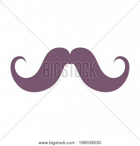 man mustahe and attractive fashion design, vector illustration