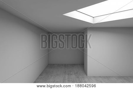 Abstract Architecture, Empty Room Interior 3 D
