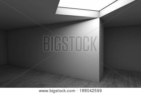 Abstract Contemporary Architecture Template 3D