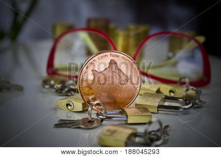 Brass Dogecoin Physical Coin