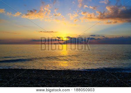 Sea Beach Sunrise