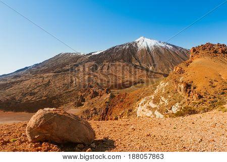 The volcano El Teide in Tenerife, Spain