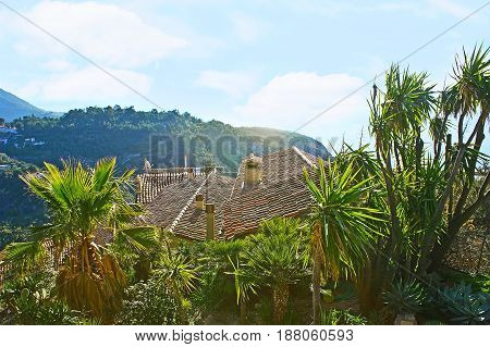 The Roofs Of Eze