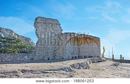 The Ruins On The Top