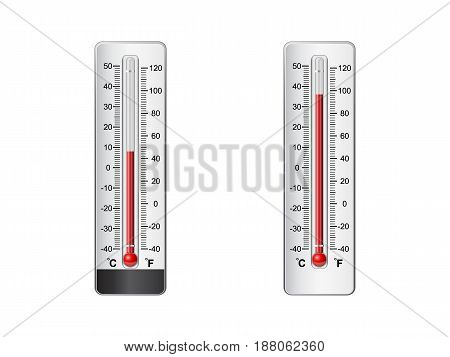 Vector illustration of thermometer File is in eps10 format.