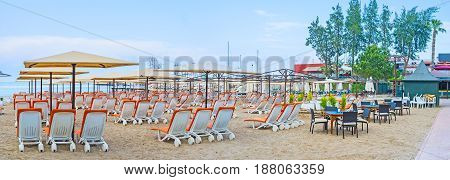 The Beach Cafes In Kemer