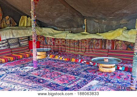 Cafe In Turkish Tent