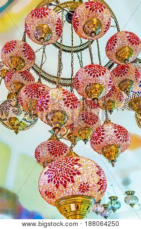 The Colorful Chandelier
