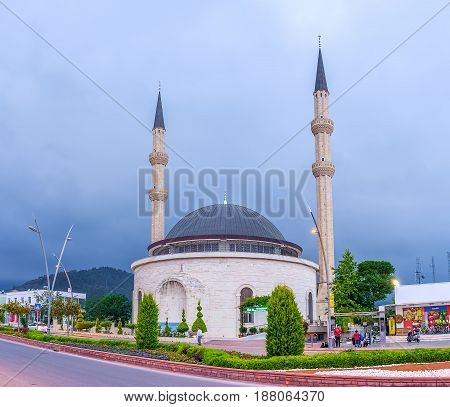 The Mosque In Kemer