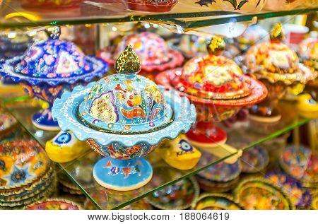 The Porcelain Sugar Bowls