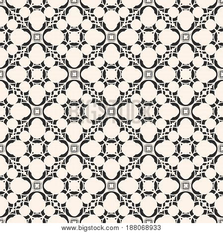 Vector monochrome seamless texture, arabic pattern with floral figures delicate, lattice mosaic tiles. Abstract geometric background. Design element for decoration, covers, prints, fabric, digital