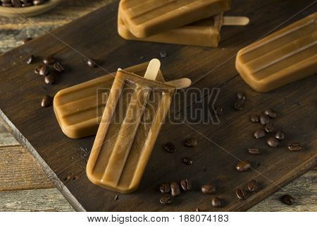 Homemade Refreshing Iced Coffee Popsicles
