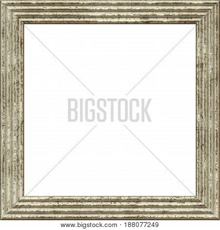 frame dark 3d grunge isolated on white