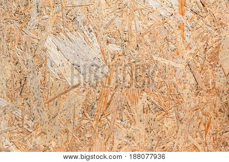 Wood Chip Lumber Pressed Plate Light In Colour With Large Particles