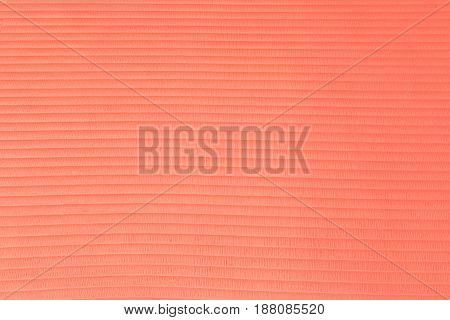 Texture Of A Rubber Red Horizontal Striped Shine Gym Mat