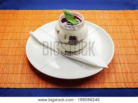 Cheese Cake In Jar