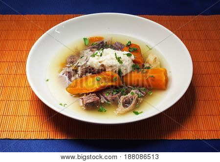 Soup With Meat