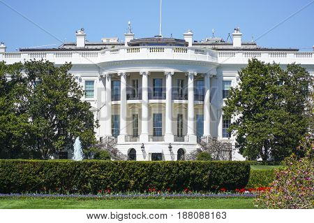 The White House in Washington - Oval Office - WASHINGTON - DISTRICT OF COLUMBIA