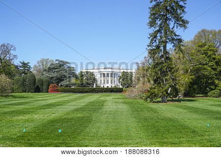 Presidents Park at the White House in Washington DC - WASHINGTON - DISTRICT OF COLUMBIA