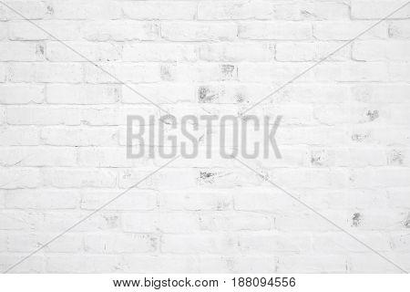 White brick wall texture background interior design background wallpaper