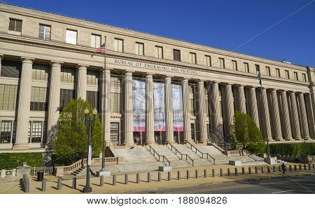 Bureau of Engraving and Printing in Washington DC - WASHINGTON - DISTRICT OF COLUMBIA