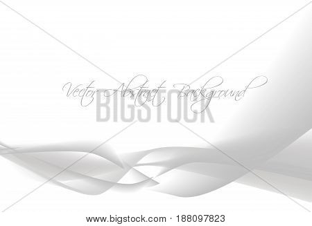Abstract design gray background. Wonderful fractal image
