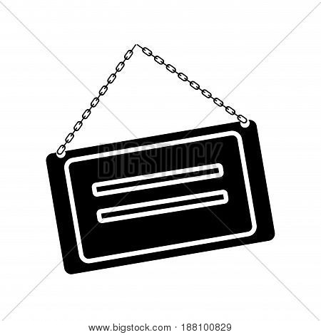 store sign icon over white background. vector illustration