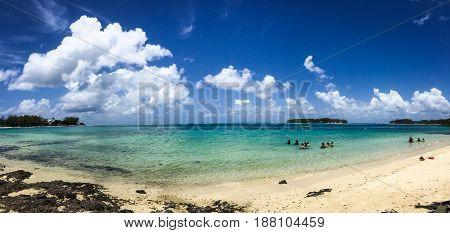 Seascape In Grand Baie, Mauritius