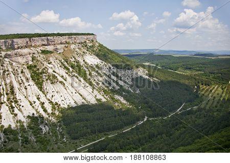 Besh-kosh Mountain. Crimea, Summer Landscape,