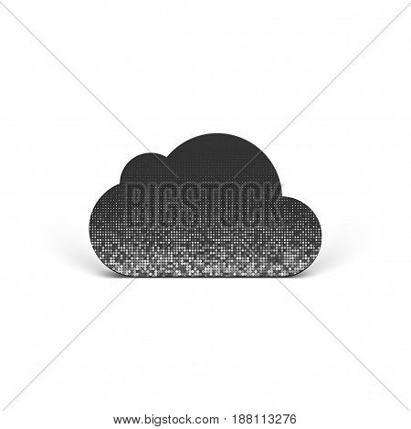 Cloud vector Pictogram like a Symbol of Technology
