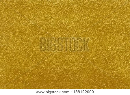 Orange Color Leather Texture